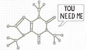 caffein molecule