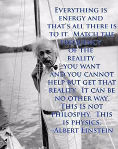 einstein everything-is-energy-and-thats