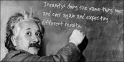 einstein expect a differnt result
