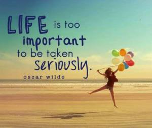 oscar wilde-life is to important