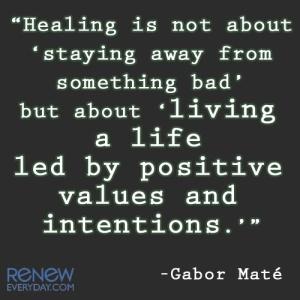 gabor mate quote healing