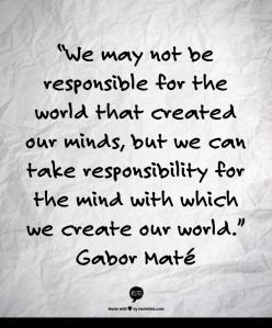 Gabor mate quote mind