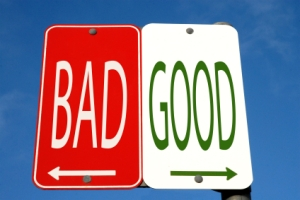 good-bad roads