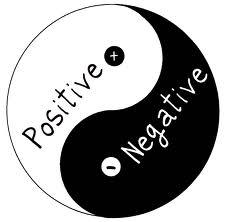 positive-negative duality