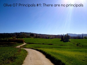OO7 #1 there are no principals