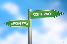 right way wrong way