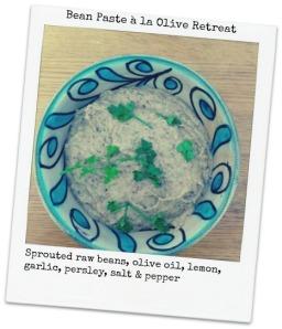 bean paste à la Olive Retreat