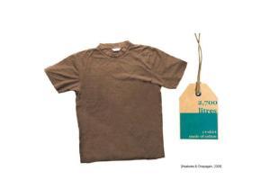 T-shirt water usage
