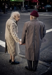 Elderly Couple in New York