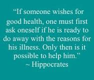 hippocrates quote do away w the cause