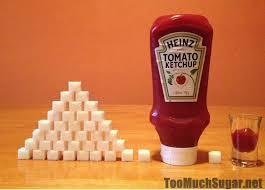 ketchup sugar