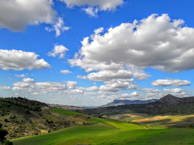 spain sky clouds